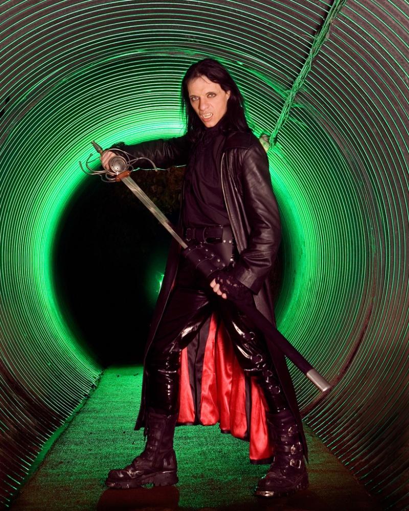 Male model photo shoot of Demondaz in Secret Nuclear Bunker