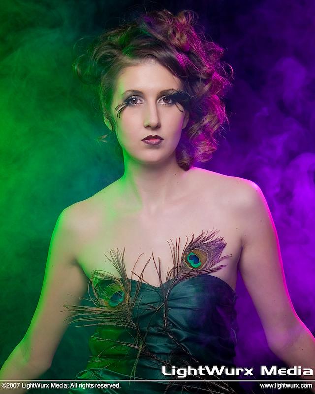 Austin, TX Mar 22, 2007 © 2007 LightWurx Media Peacock Feathers