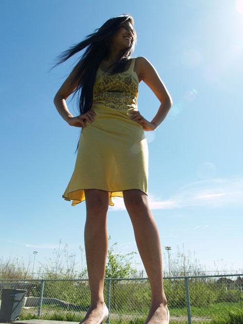 Female model photo shoot of Regina Grace by j-shooter