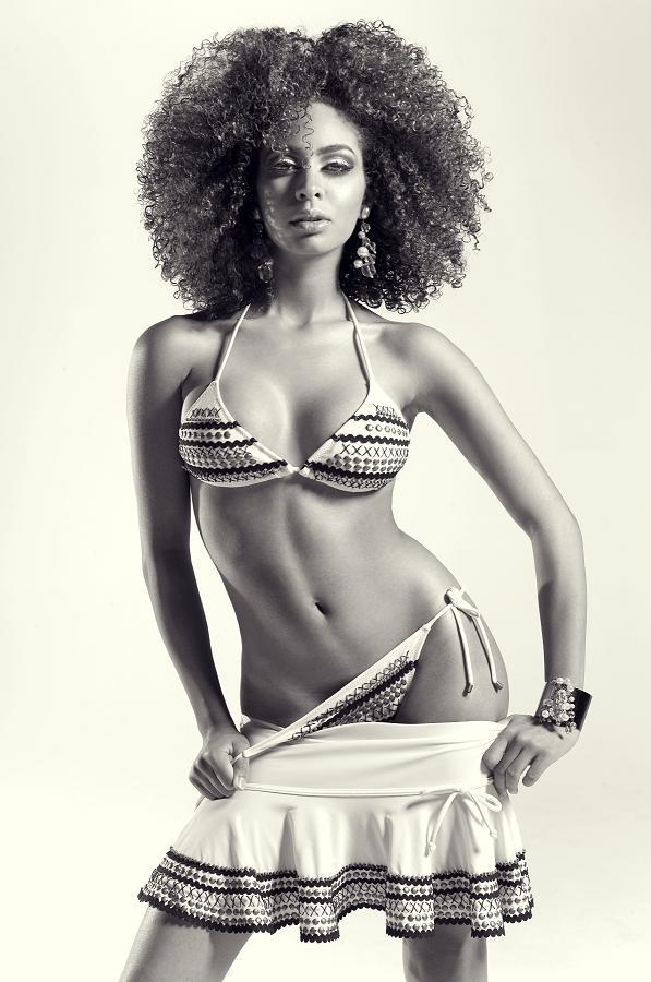 Female model photo shoot of Charlotte Delamor in Miami Beach Studio