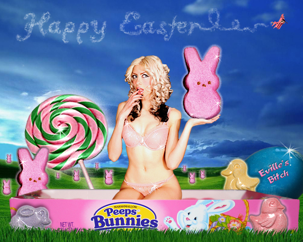 NJ Mar 29, 2007 Dominique @ SkullznFishnets.com Happy Easter!