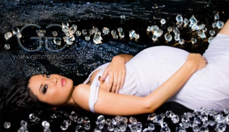 Female model photo shoot of glitterguru and Christine Hula by glitterguru in Los Angeles/Santa Clarita, makeup by Anthony Merante
