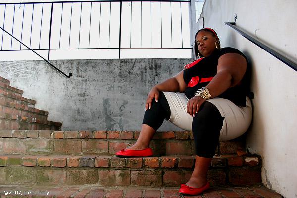 Female model photo shoot of Satrina by indi-is-conan