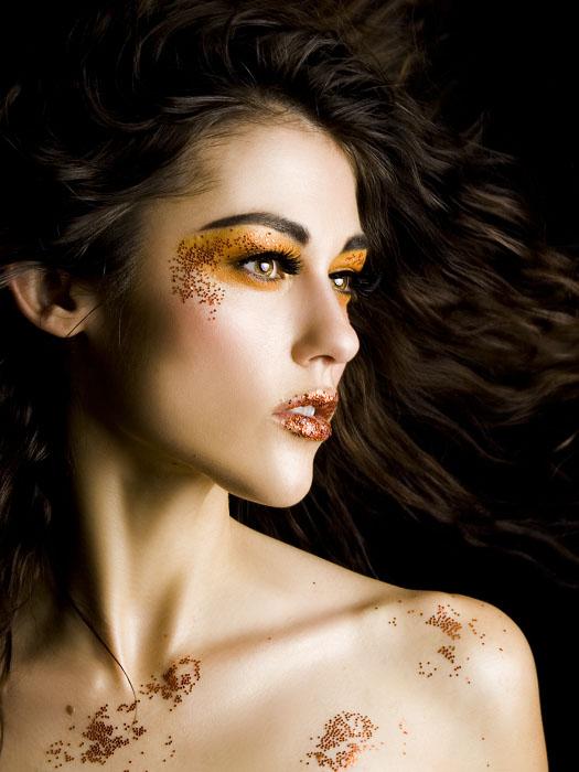 at photographers studio Apr 05, 2007 Brett Michael Nelson Photography of MM Glitter Girl for Spa Golden: Hannah Mae/Model, MU/H/Concept Deborah Lake