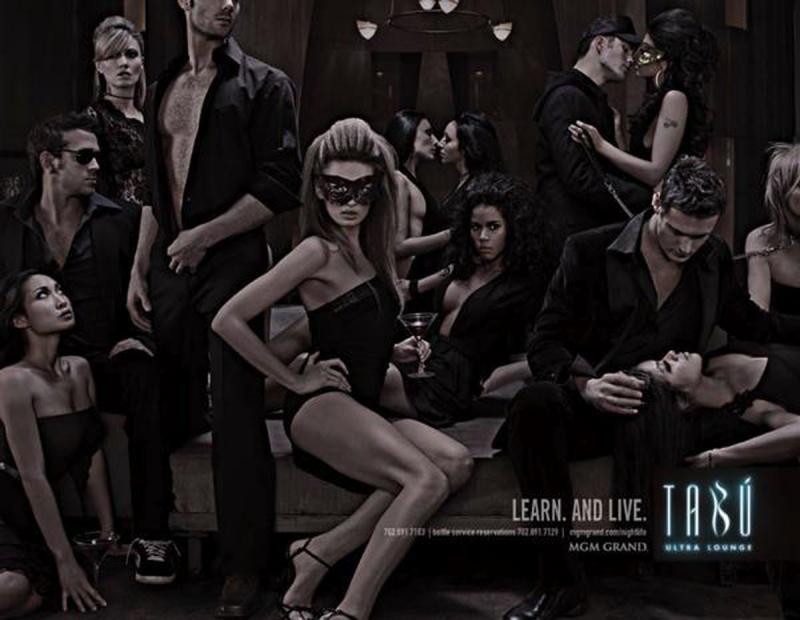 Las Vegas Apr 06, 2007 MGM Grand MGM Grand-Tabu Nightclub Print AD