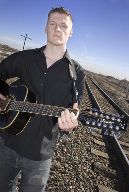 Male model photo shoot of Schwarz in The tracks