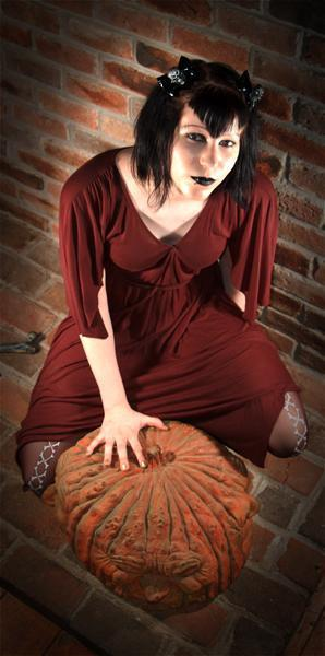 Female model photo shoot of Dead Dolly in Burnsville, NC.