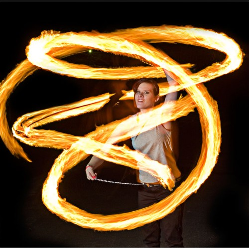 Apr 11, 2007 Billy Monday-7980 fire poi-this is actually me fire dancing w/ time exposure as the only effect.
