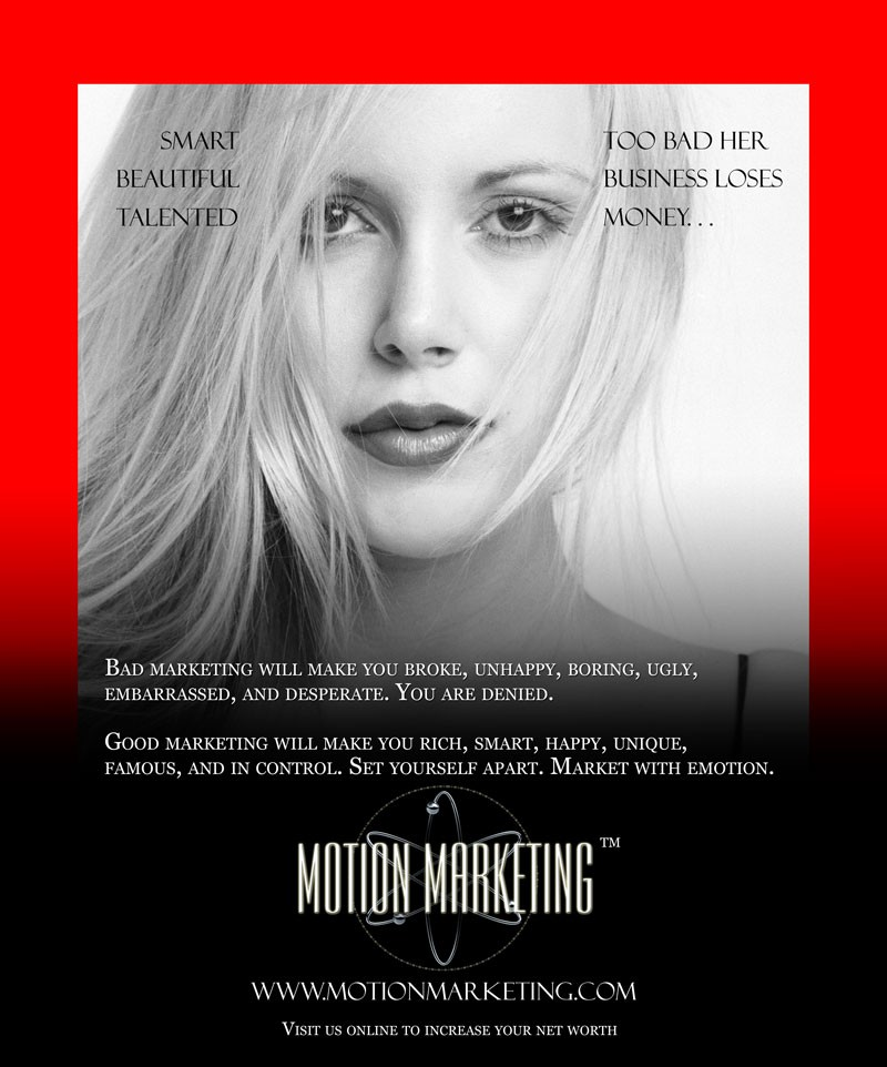 Apr 14, 2007 Motion Marketing Ad. for Business Review Mag.