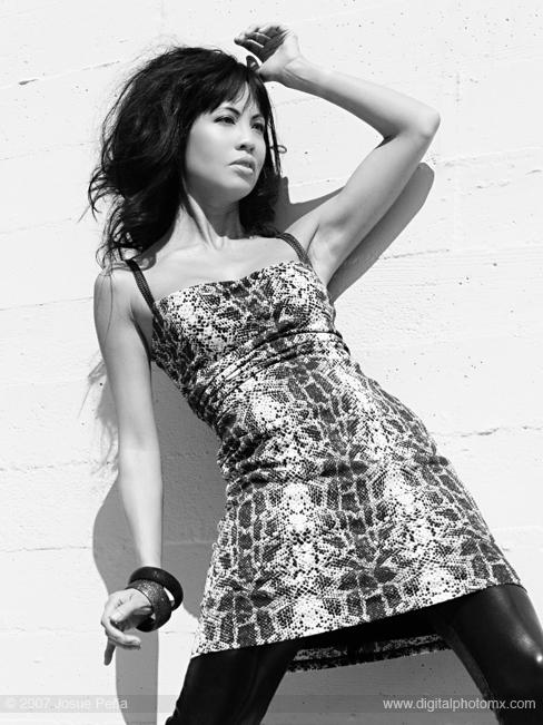 Female model photo shoot of Erika Lee by Josue Pena in Los Angeles, CA, makeup by jstmakeup