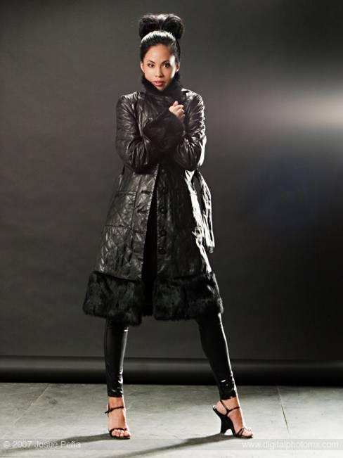 Female model photo shoot of Erika Lee by Josue Pena in LA, CA, makeup by jstmakeup