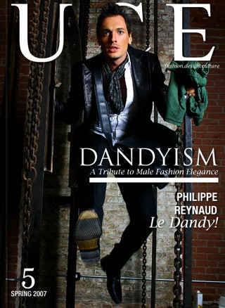 New York, USA Apr 21, 2007 UCE Life Magazine Dandyism Cover photographed by Yann Feron