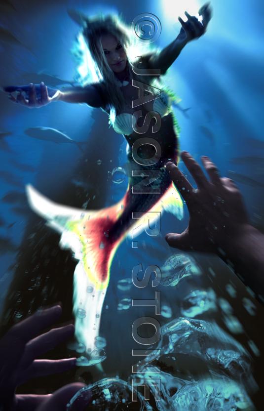 Houston Apr 22, 2007 Jason Stone Mermaid