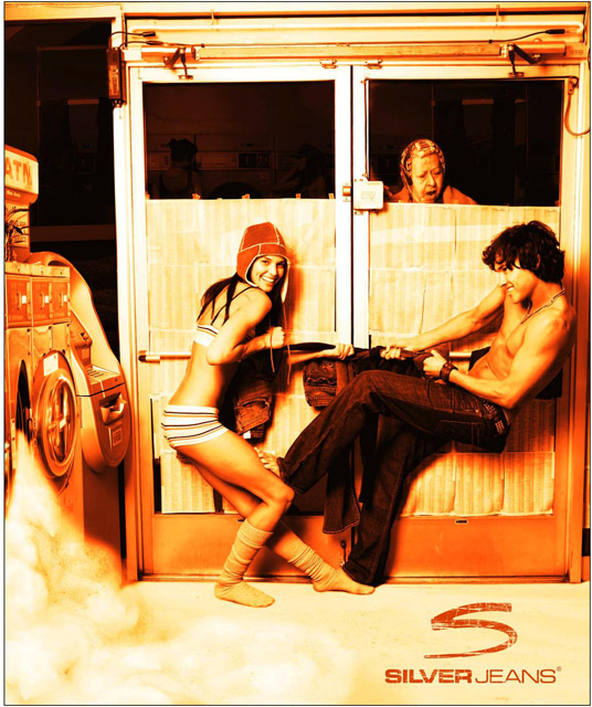 Hollywood, CA Apr 22, 2007 2007 Scott Nathan Photography Silver Jeans Laundromat