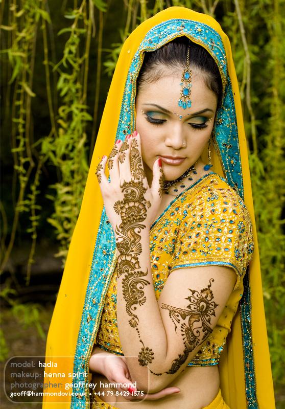 Female model photo shoot of Preeti C by Hammondovi, makeup by Angela Holthuis