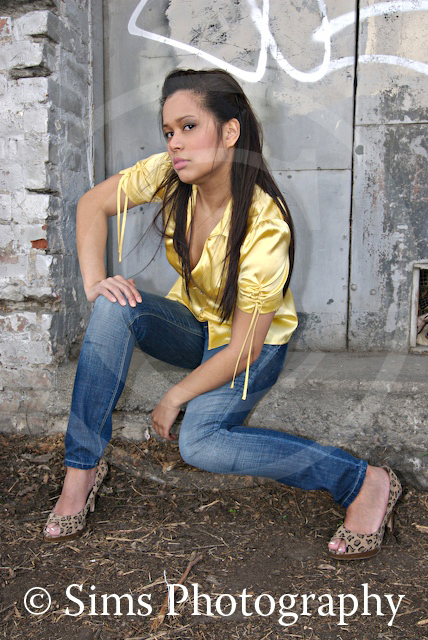 Female model photo shoot of Joyce Ann by Brett Sims Photography in Downtown SJ, wardrobe styled by Leigh World