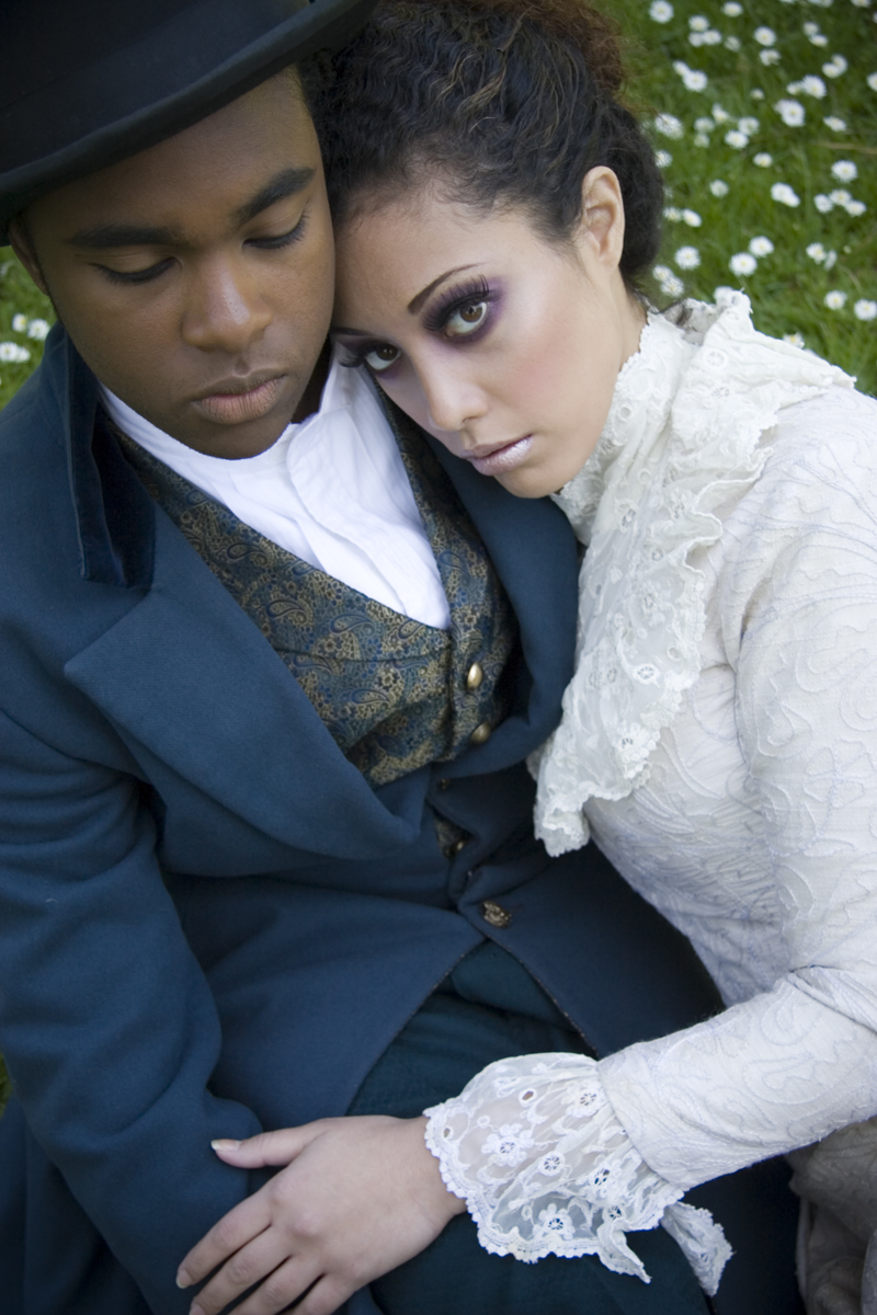 Female and Male model photo shoot of Tara C and Chase M in San Francisco, makeup by Brickhouse Beauty Inc