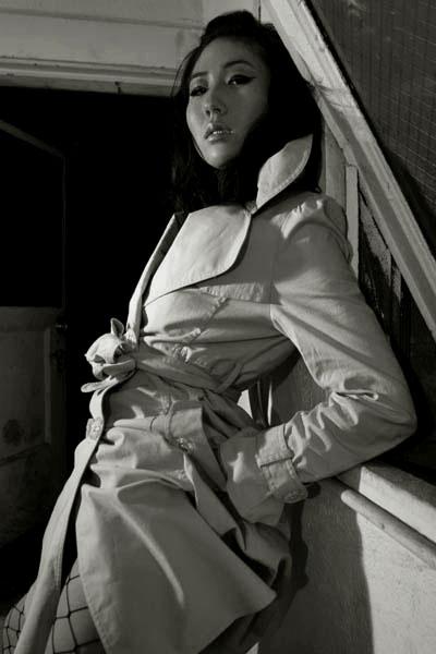 Female model photo shoot of e v e by Beatrice Neumann