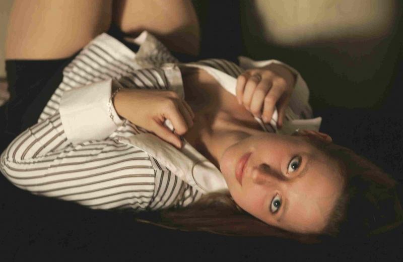 Female model photo shoot of SKnight by bob456