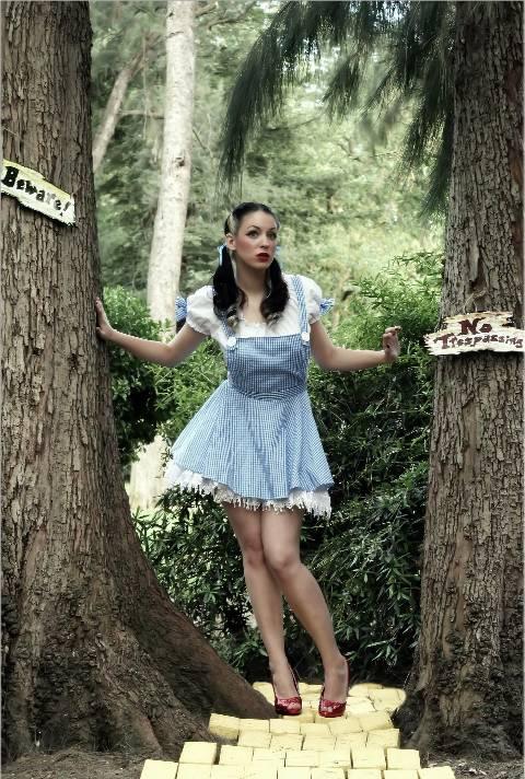 Oz, California May 02, 2007 Shin Kicker has anyone seen the rest of my dress???