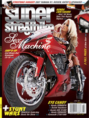 May 03, 2007 My work on the cover of Super Streetbike. See www.superstreetbike.com