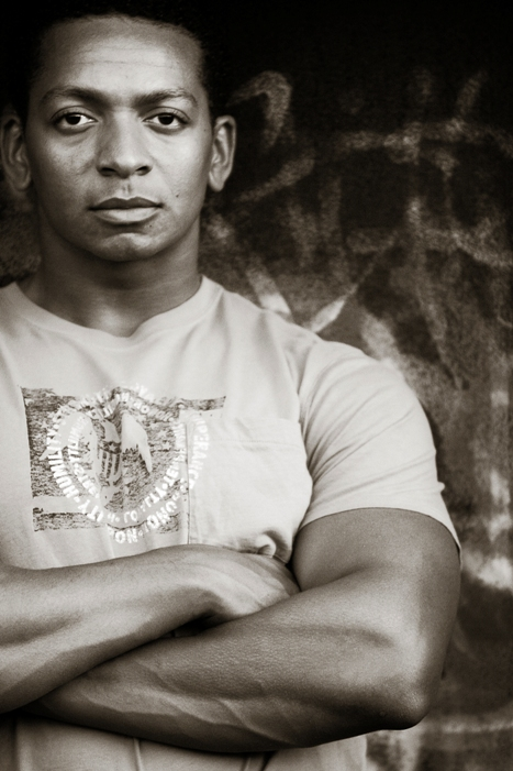 Male model photo shoot of A Michael Robinson