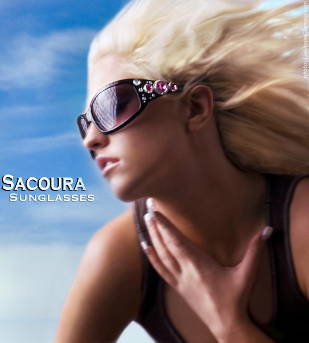 las Vegas May 15, 2007 las vegas glamour 2007 sara, Sacoura Sunglasses
