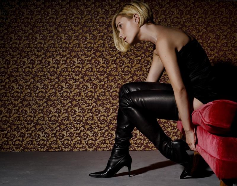 studio400 May 19, 2007 luisaragon; MUA/Hair EmElle; Styling model Chanel Boots
