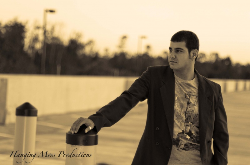 Male model photo shoot of ROCK007 by Hanging Moss Productions in RoofTop