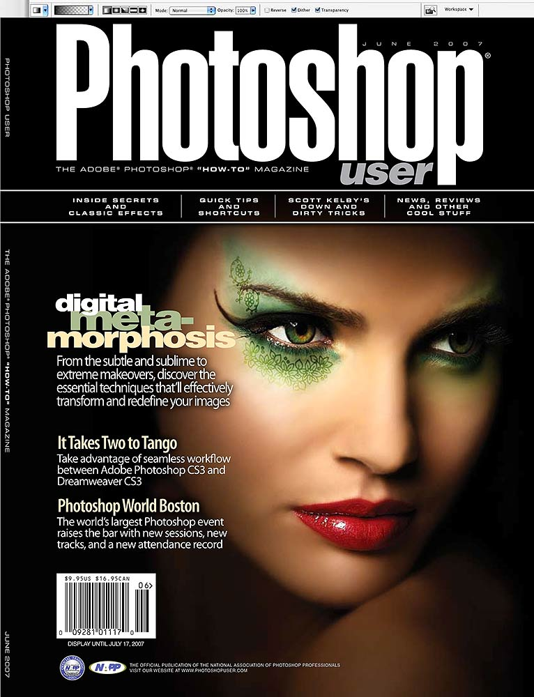 May 28, 2007 © David Cuerdon & Photoshop User Magazine Photoshop User Magazine - June 2007 issue