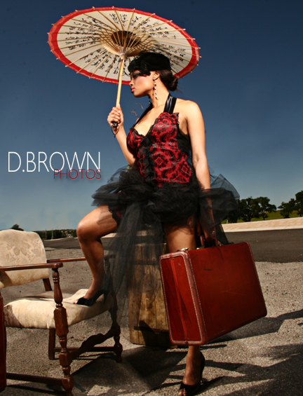 Female model photo shoot of TikiGlam and Chase Dupree by dbrownphotos in Austin