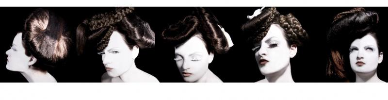 Female model photo shoot of Tara C and A N N E T T E   l in Studio, San Francisco, CA, makeup by Brickhouse Beauty Inc