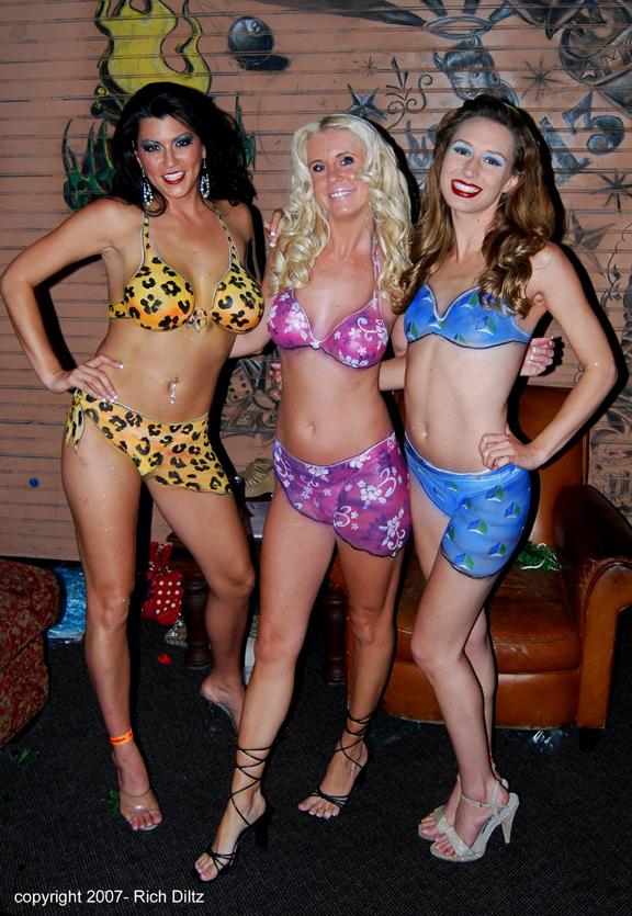 Mandalay Bay, Las Vegas, NV May 31, 2007 2007 Rich Diltz Bikini Girls at House of Blues