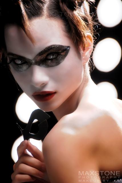 Camera Shake Studio, Manila, Philippines May 31, 2007 makeupbyk8 Tha Mask