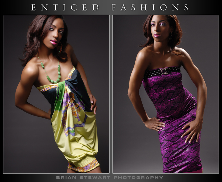Enticed Fashions Photo Shoot Jun 04, 2007 Truly Enticing