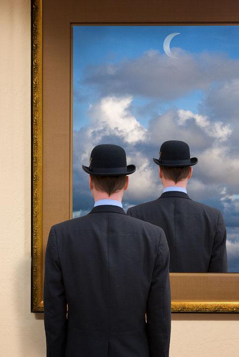 Jun 05, 2007 Homage to Magritte