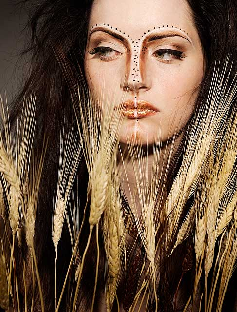 "Studio Jun 05, 2007 Michael Riedel ""Animalistic Wheat"" Concept, Makeup and Hair: Me"