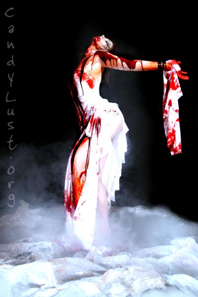NYC Jun 06, 2007 Candylust.org, Miss Katonic, Inquinok Shoot for the blackmetal band