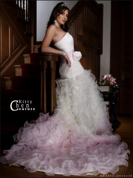 lakewood ohio Jun 08, 2007 michael chevalier Sara; Bridal gown by Kitty Chen