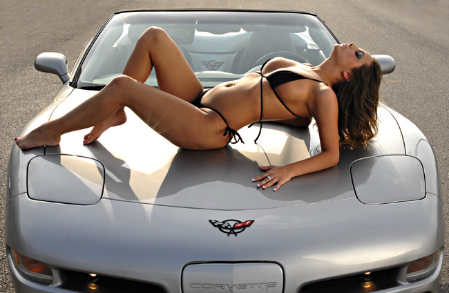 Jun 08, 2007 Barry Brown Photography Ashley--The hottest hood ornament