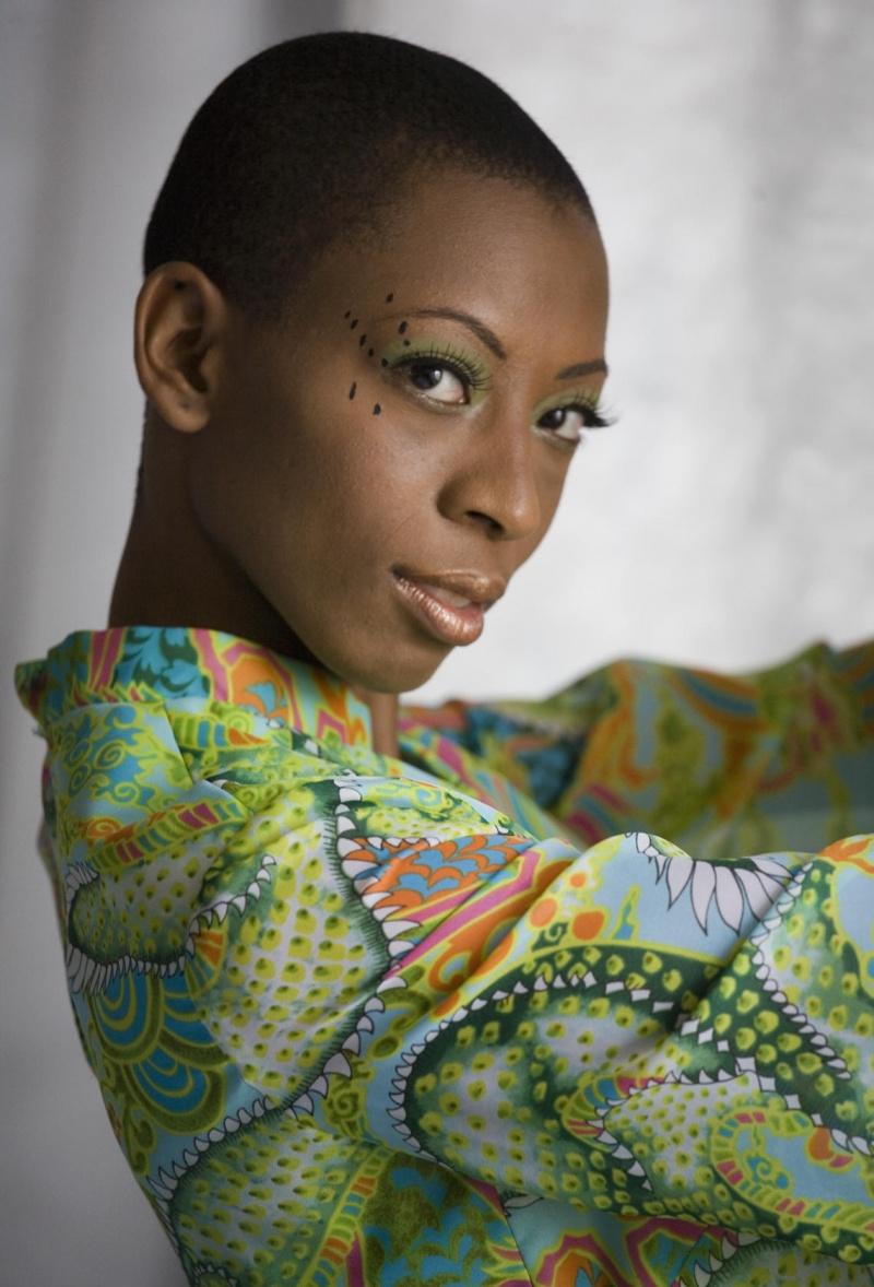 Female model photo shoot of niya ebony