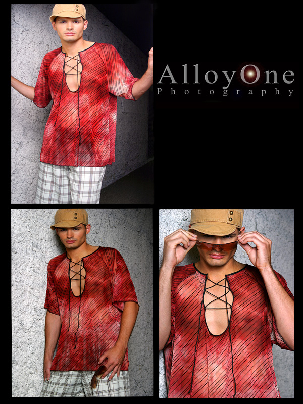 Female and Male model photo shoot of Eileen Kim Couture and Janos by AlloyOne  Photography
