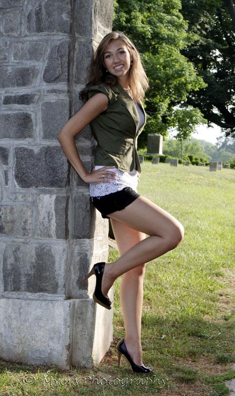 Female model photo shoot of Cassandra Payne by Rick Myers