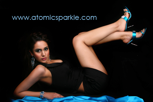 Female model photo shoot of Preeti C and Tanya Mann by Atomik Photography - Umbar Shakir, makeup by Angela Holthuis