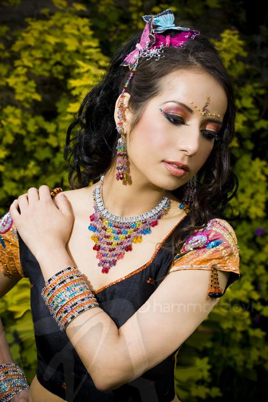 Female model photo shoot of Preeti C and Ipsita by Hammondovi, makeup by Angela Holthuis