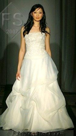 NYC  Jun 11, 2007 Bridal fashion week -Wedding Channel 2007  Designer Lot 11 Designer