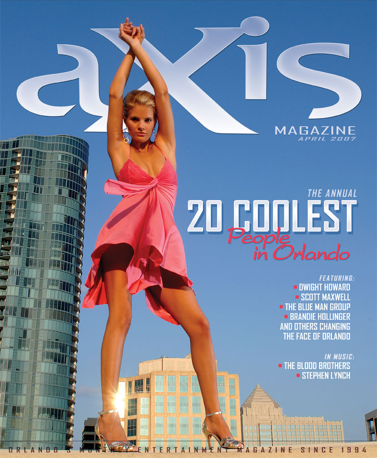 Fort Lauderdale Jun 14, 2007 DNAPHOTO Axis Magazine Cover