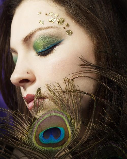 Springfeild MA Jun 14, 2007 Vanessa Cors *ARTISTIC* Feathers - Makeup by Jenny ReCasino - 2006