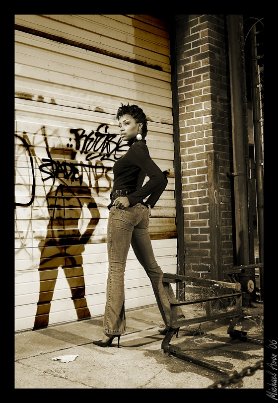 Female model photo shoot of Amanda_B by michaelavon