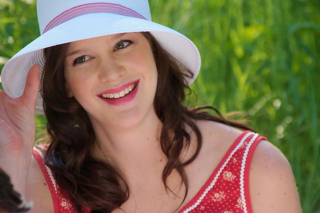 Female model photo shoot of Elaine W by